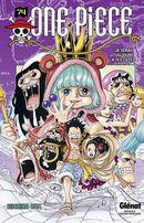 Couverture Je serai toujours à tes côtés - One Piece, tome 74
