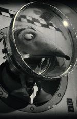 Affiche Captain Sparky contre les soucoupes volantes