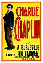 Affiche Charlot joue Carmen