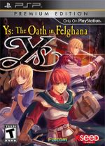 Jaquette Ys : The Oath in Felghana