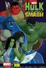 Affiche Hulk et les agents du S.M.A.S.H.