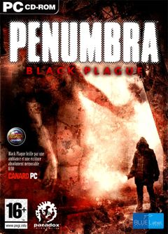 Jaquette Penumbra : Black Plague