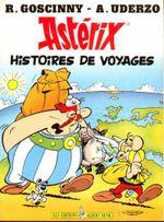 Couverture Astérix - Hors Série - Histoires de voyages