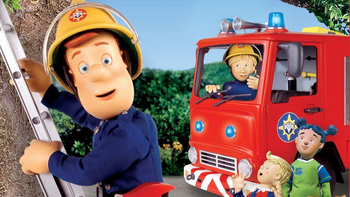 Sam le pompier s rie 1987 senscritique - Photo sam le pompier ...