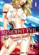 Couverture Resident Evil - Heavenly Island