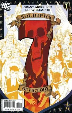 Couverture Seven Soldiers of Victory