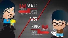 screenshots Seb vs Dorian