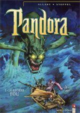 Couverture Pandora, tome 1 : Le régent fou