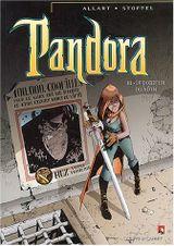 Couverture Pandora, tome 3 : Le porteur du Nôth