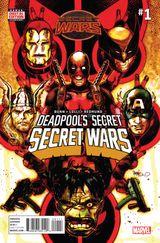 Couverture Deadpool's Secret Secret Wars