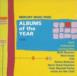 Pochette Mercury Music Prize: Albums of the Year 1996