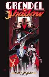 Couverture Grendel vs. The Shadow