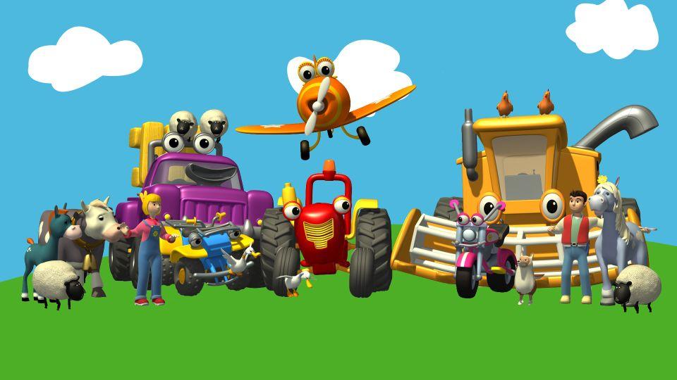 Affiches posters et images de tracteur tom 2009 - Jeux de tracteur tom ...
