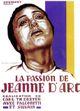 Affiche La Passion de Jeanne d'Arc