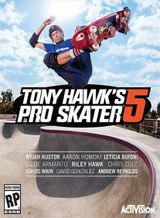 Jaquette Tony Hawk's Pro Skater 5