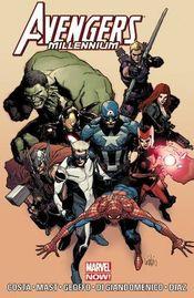 Couverture Avengers : Millenium