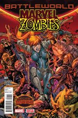 Couverture Marvel Zombies (2015)
