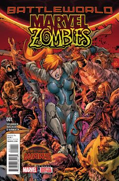 Couverture Marvel Zombies (2015)