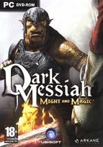 Jaquette Dark Messiah of Might & Magic