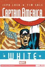 Couverture Captain America: White