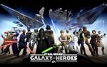 Jaquette Star Wars : Galaxy of Heroes