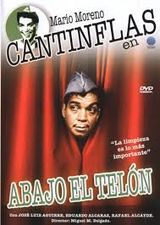 Affiche Cantinflas : Abajo el telon