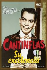 Affiche Cantinflas : Su excelencia