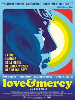 Affiche Love & Mercy : La Véritable Histoire de Brian Wilson des Beach Boys
