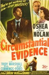 Affiche Circumstantial Evidence