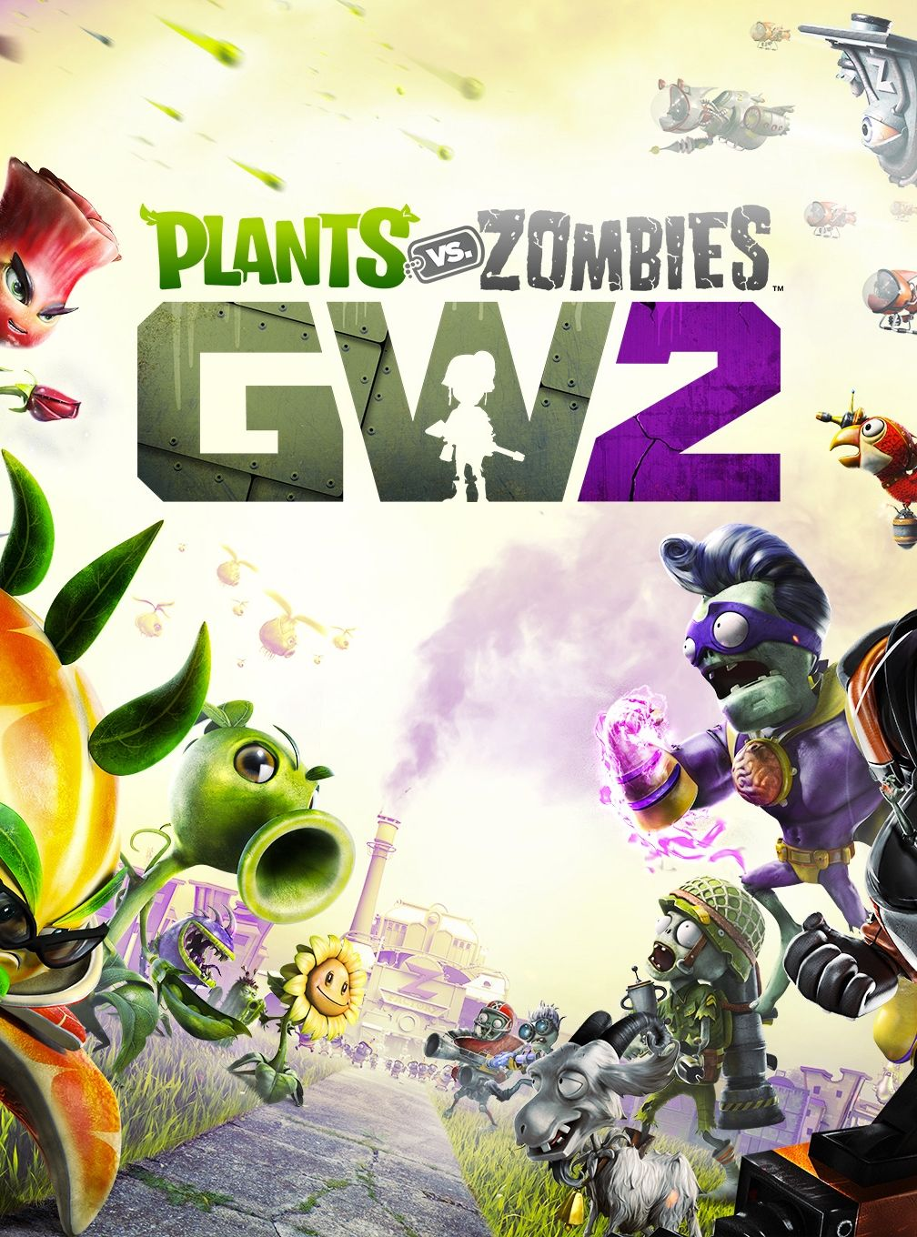 garden warfare 2 how to get big zombies