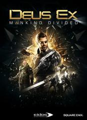 Jaquette Deus Ex: Mankind Divided