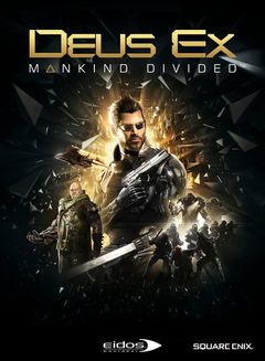 Jaquette Deus Ex : Mankind Divided