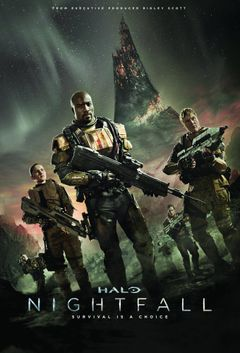 Affiche Halo: Nightfall