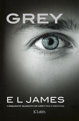 Couverture Grey - Cinquante nuances de Grey par Christian