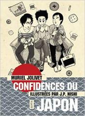 Couverture Confidences du Japon