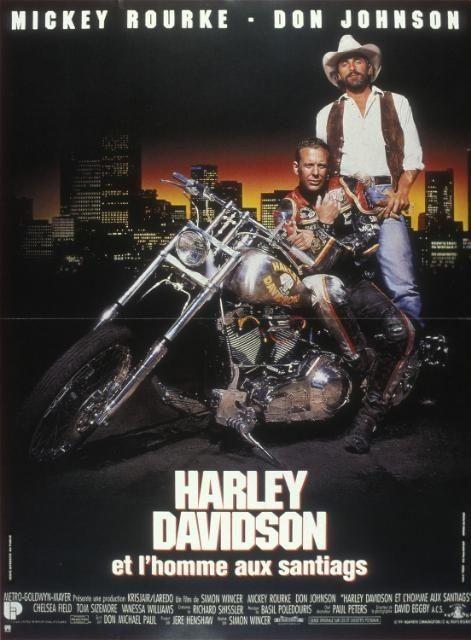 harley davidson et lhomme aux santiags