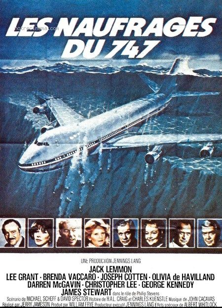 les naufrag s du 747 film 1977 senscritique. Black Bedroom Furniture Sets. Home Design Ideas