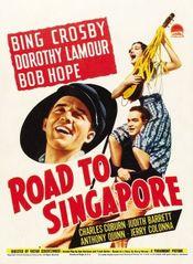 Affiche En route pour Singapour