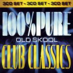 Pochette 100% Pure Old Skool Club Classics