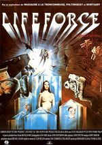 Affiche Lifeforce, l'étoile du mal