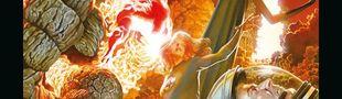 Couverture Marvel Anthologie : Nous sommes Les 4 Fantastiques