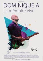 Affiche Dominique A, La mémoire vive