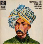 Pochette Khansahib Abdul Karim Khan
