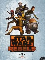 Couverture Star Wars Rebels, tome 1