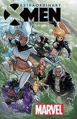 Couverture Extraordinary X-Men (2015 - Present)