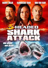 Affiche L'Attaque du requin à trois têtes