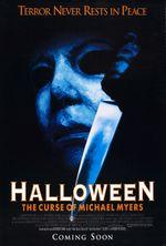 Affiche Halloween 6 : La Malédiction de Michael Myers