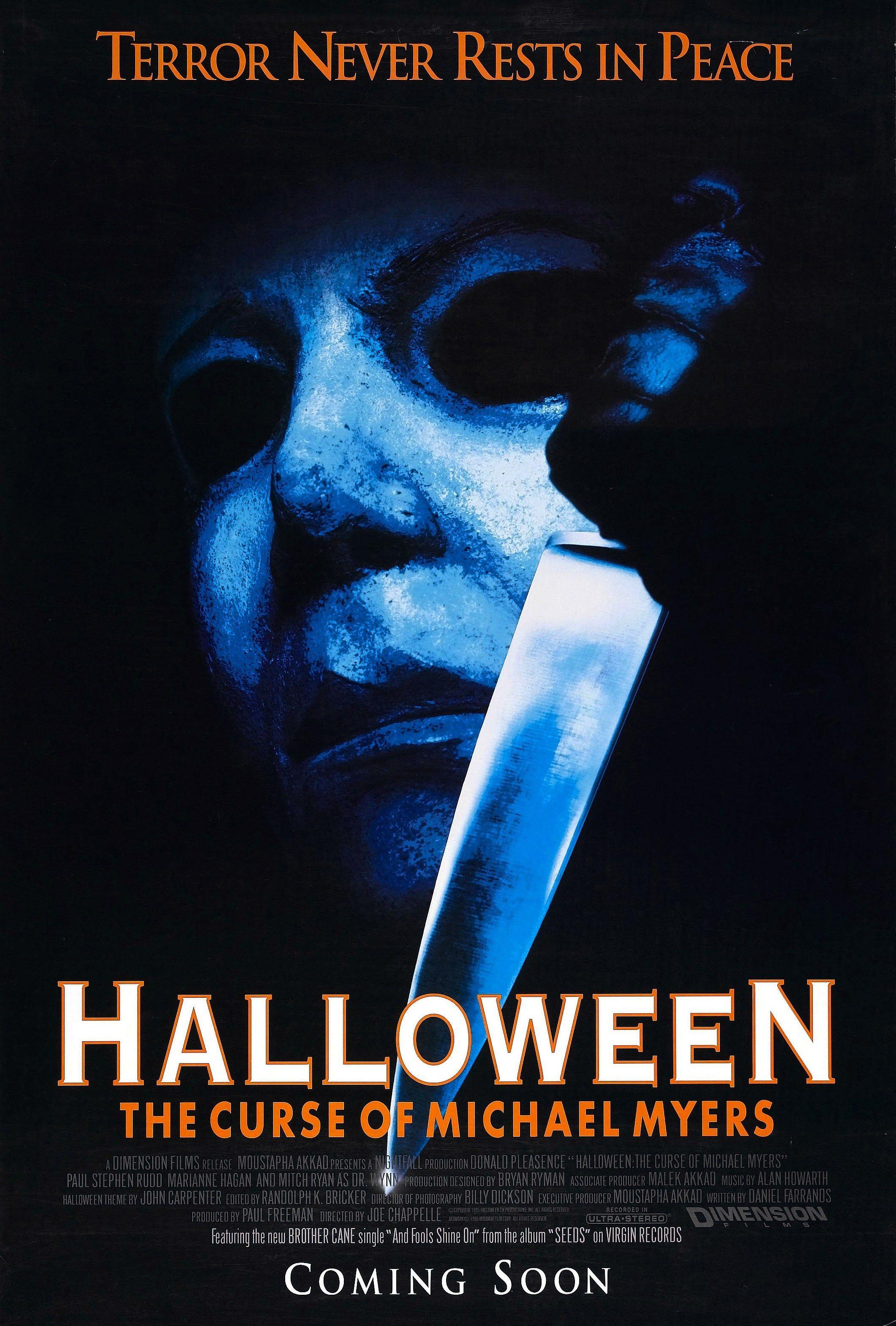 """Résultat de recherche d'images pour """"halloween 6 affiche"""""""