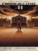 Couverture -44 - L'Homme de l'année, tome 8