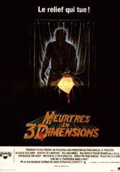 Affiche Meurtres en 3 dimensions